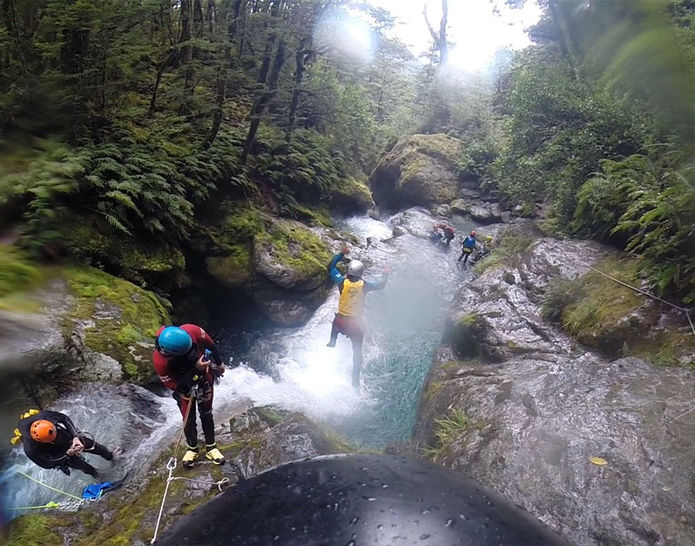 Jumping Off Waterfalls & Other Saturday Activities (The Canyoning Post)
