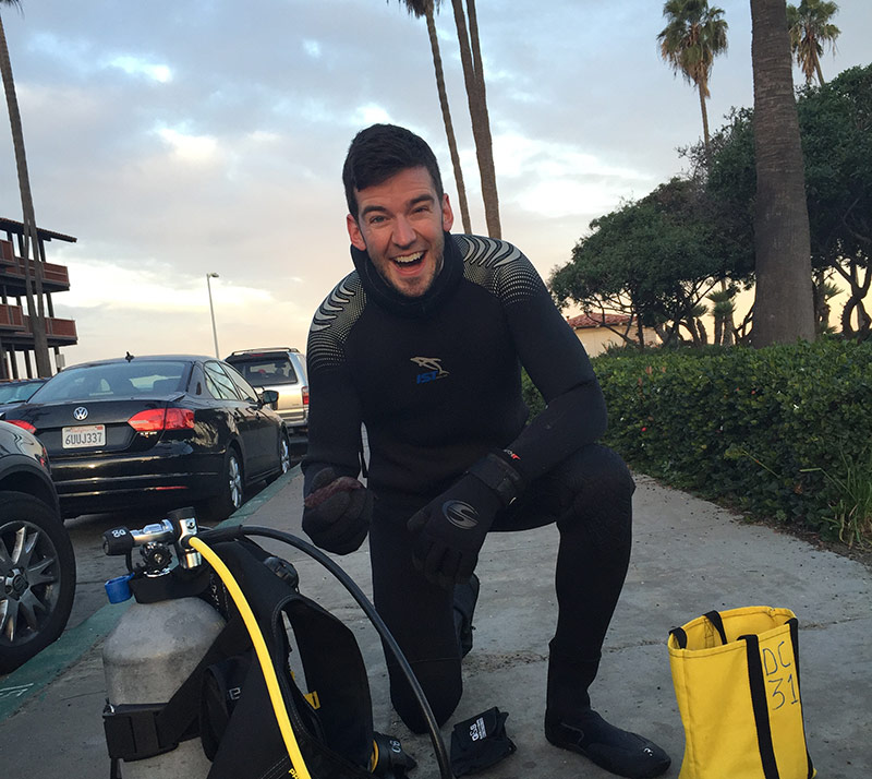 Scuba Diving in San Diego – A Story of Humongous Crabs
